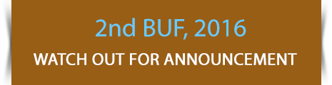 2nd BUF, 2016, Watch out for announcement